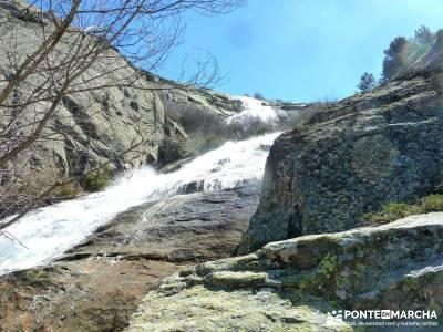 Cascadas de La Granja - Chorro Grande y Chorro Chico; trekking senderismo; rutas senderos;grupos de